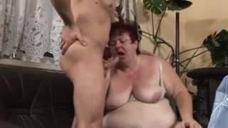 Follando con la suegra