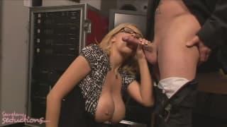 Katie Kox adora el esperma de Jack Vegas