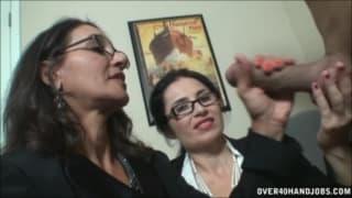 Persia y Tatiana sorprenden a su patrón