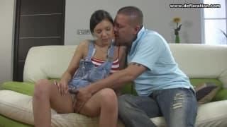 Lena Piterskaja tiene un macho que la adora