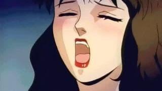 Una escena porno hentai con una pareja