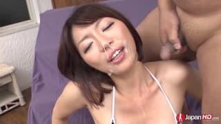 Una joven japonesa llamada Izumi Manaka