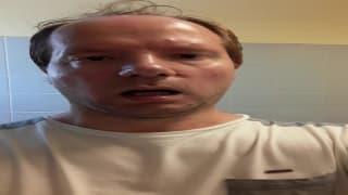 Una masturbación en el baño para correrse